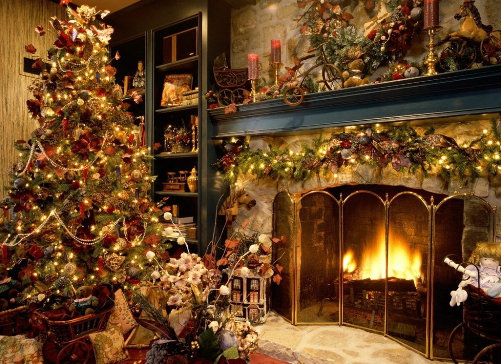 A cosy Christmas.