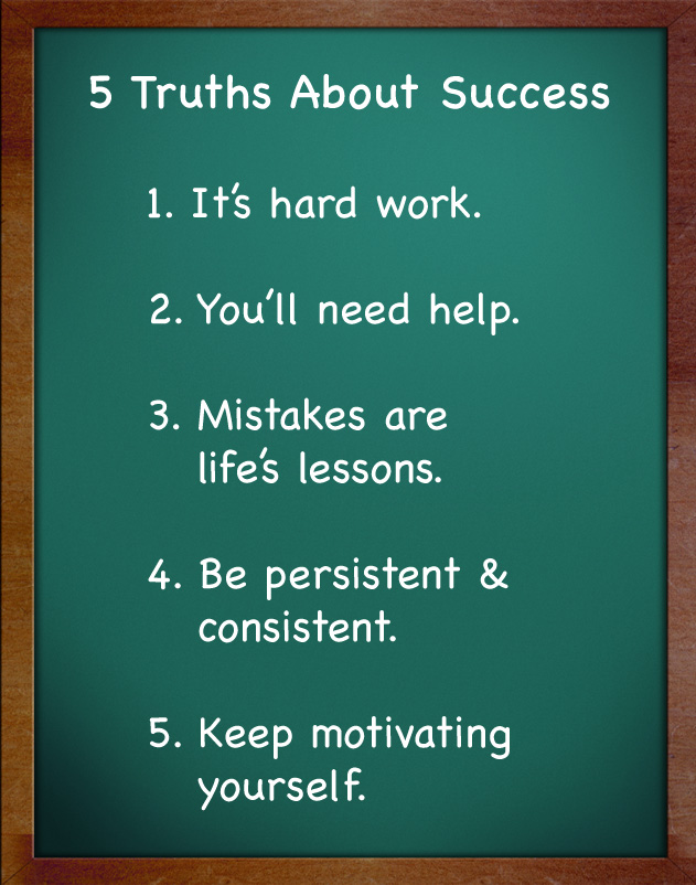 5 Truths About Success Success In A Cup