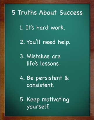 5 truths about success