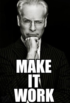 Tim Gunn make it work