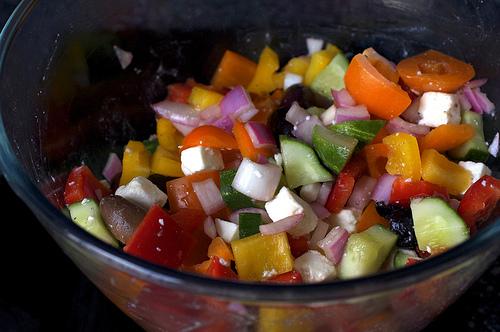 Mediterranean pepper salad from Smitten Kitchen