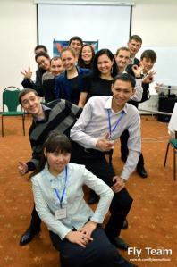QNET IRs in Almaty City, Kazakhstan enjoying a training