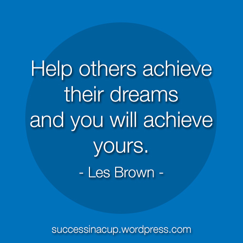 Help others and succeed together.